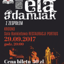 portius_koncert_ela_adamiak_plakat_A3